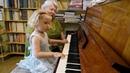 Ярослава Лемешкина, 3 года. Гаммы (прямые, расходящиеся и хроматические). Открытый урок.