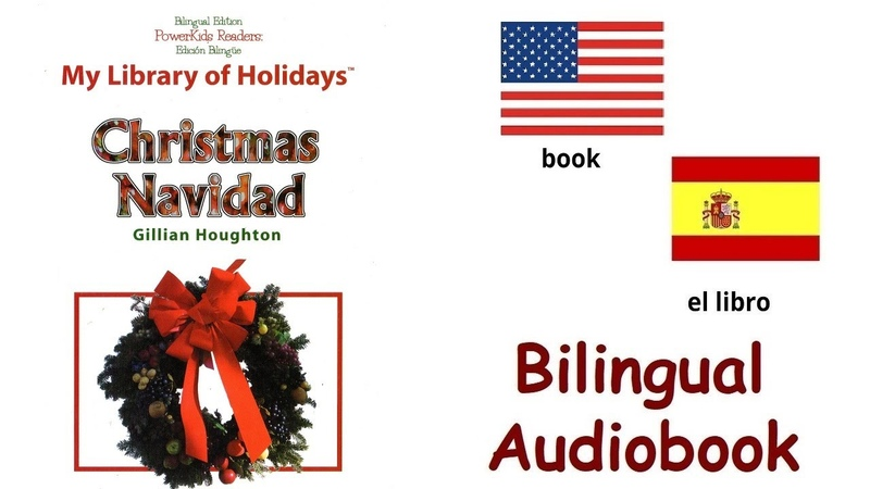 Navidad Christmas by Gillian Houghton How we celebrate Bilingual book In English and Spanish