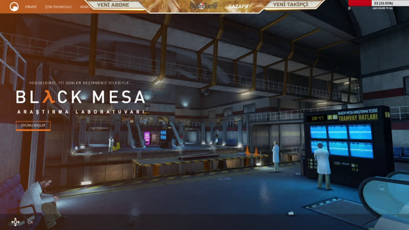Black Mesa Half Life 1 Tamamen Türkçe