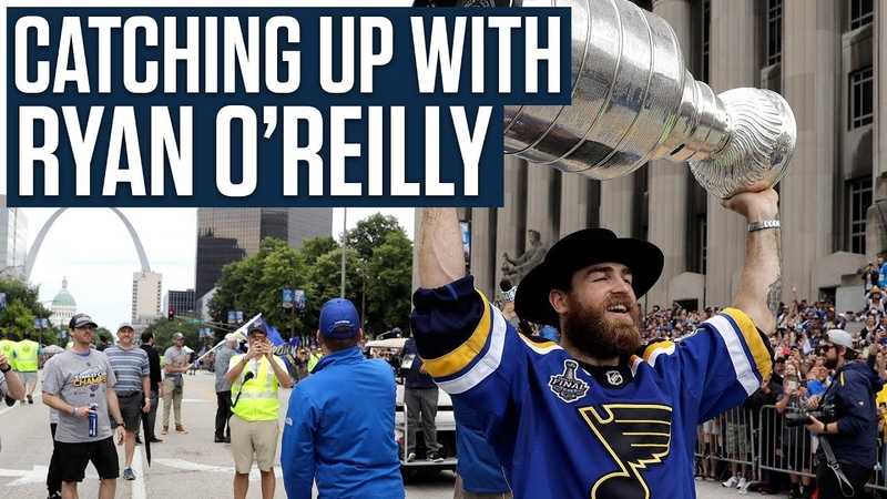 Ryan O'Reilly on Winning the Stanley Cup Early Career Struggles Showing Off His Guitar Skills