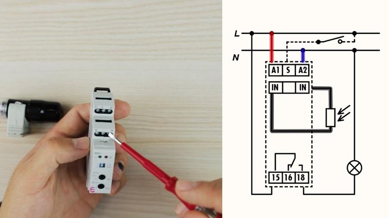Как установить и запрограммировать сумеречный выключатель SOU 1