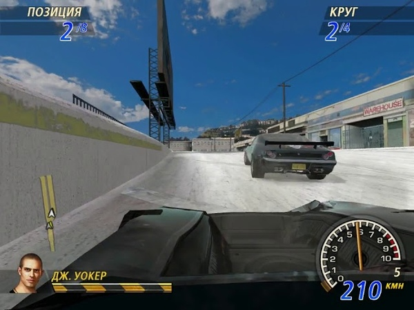 FlatOut 2 Winter Pursuit 22 Street Wreck Cup 1 Water Canal 3
