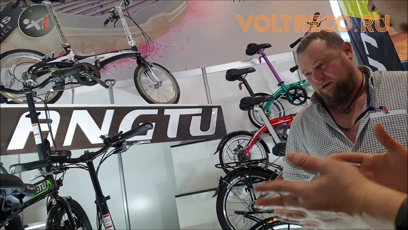 Велопарк 2020 8 Электровелосипед Langtu Складной Городской Обзор Voltreco.ru