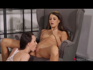 Cindy Shine, Adel Morel  Small tits brunettes quivering love  Sex, Face Sitting, Fingering, Licking, Lesbian