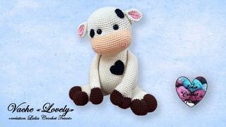 Vache Lovely Amigurumi Crochet Lidia Crochet Tricot