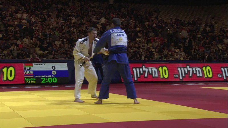 SHOKA Vadzim (BLR) vs GHAZARYAN Arsen (ARM)