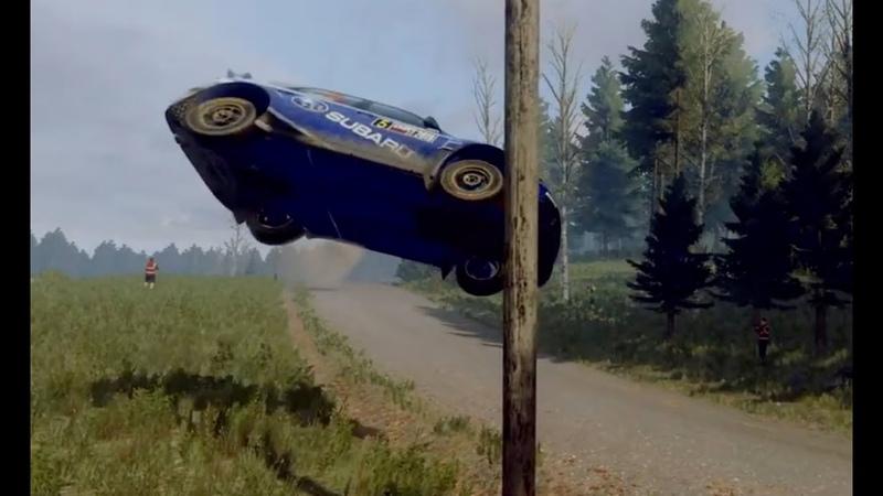 DiRT Rally 2 0 Best Crash Ever