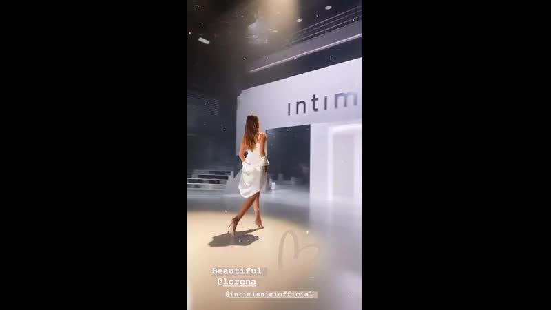 Показ бренда «Intimissimi» – 29.10.19 – Верона