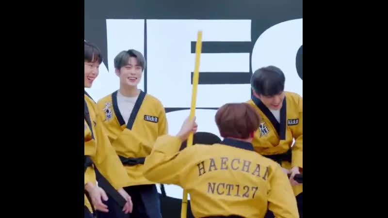 Jaehyun was laughing so hard bcs of johnny haechan and doyoung