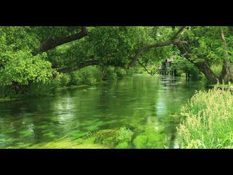 【自然の音と4K 映像】美しき安曇野水景色 リラックス 3時間 | Relaxing Nature Sounds 3h