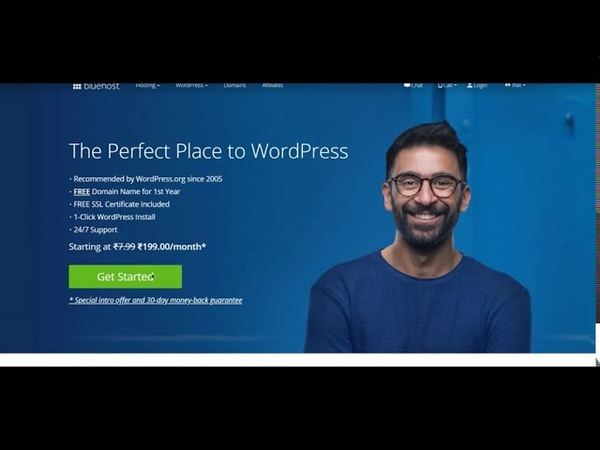 Blue host review blue hosting affiliate blue hosting WordPress how to use Bluehost for Beginners