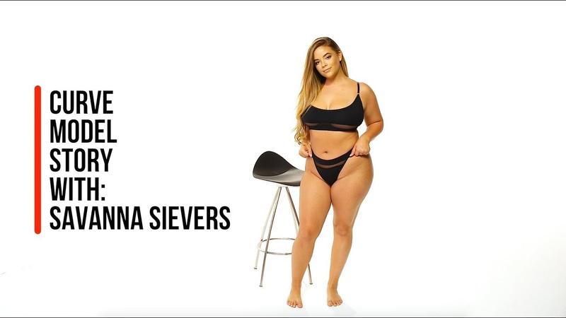Savanna Sievers - Curve Model Story