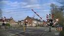 Spoorwegovergang Vught Dutch railroad crossing