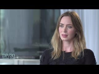 Интервью Эмили Блант для DP/30 (Убийца, 2015)