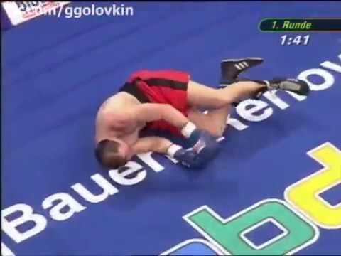 Gennady Golovkin pro debut vs Gabor Balogh 1 22 3 6 May 2006