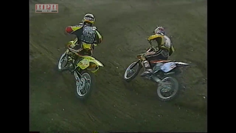 1999 Gravity Games - Travis Pastrana Cowboy Kenny Bartram Doubles Run - What a Mess. lol