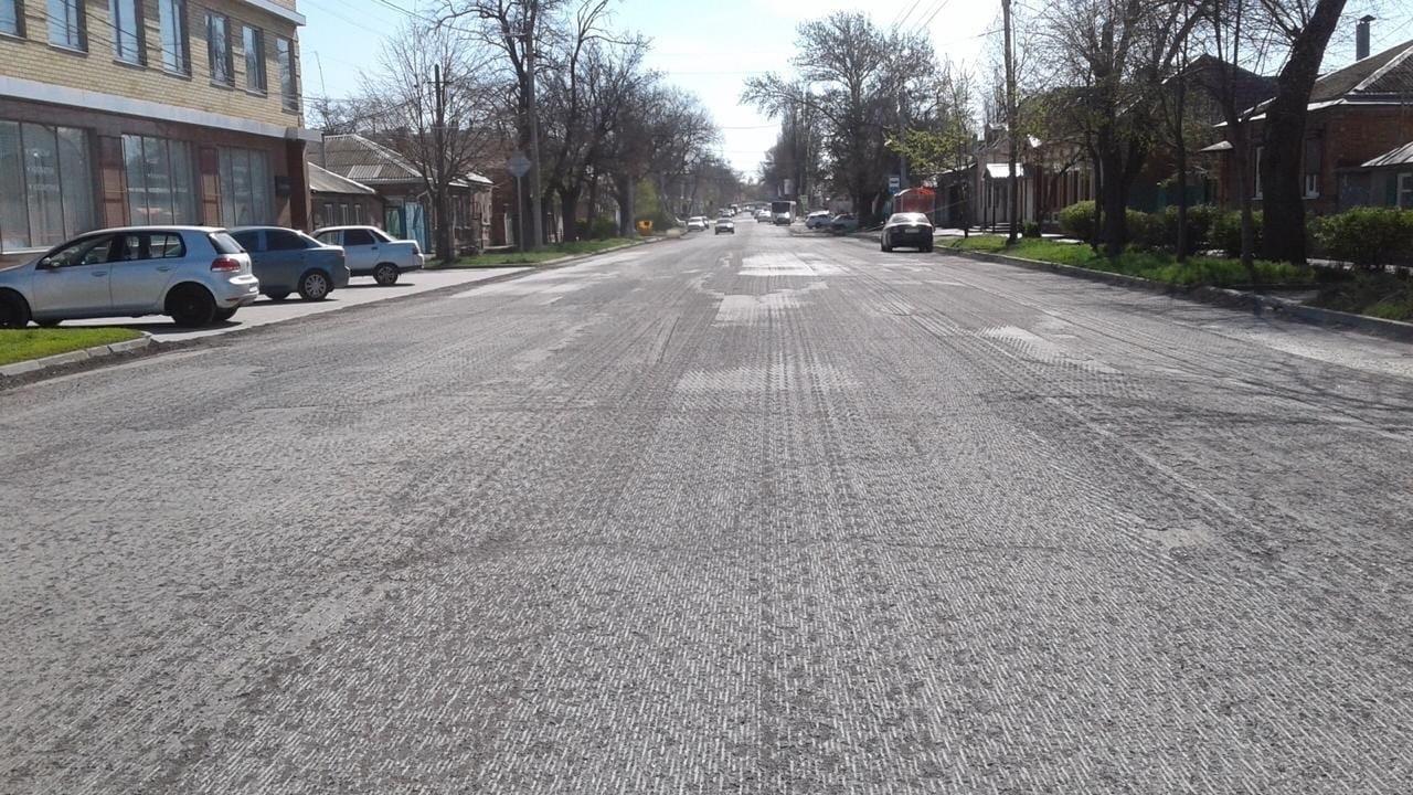 В Таганроге начата реализация работ в рамках национального проекта «Безопасные и качественные автомобильные дороги»