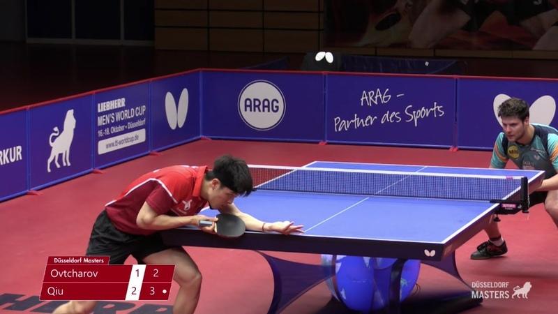 Dimitrij Ovtcharov vs Dang Qiu 2020 Düsseldorf Masters