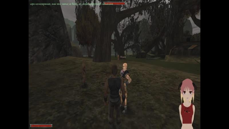 Vtuber Domi Metarex играет в Готику 5 мистер призрак