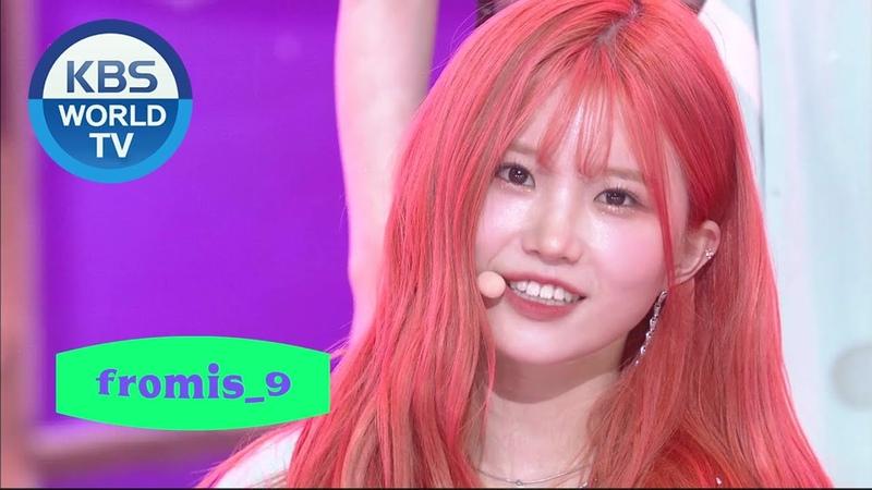Fromis 9 프로미스나인 Feel Good SECRET CODE Music Bank 2020 09 25