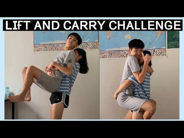 Couple Lift and Carry Challenge *Couple Edition with Michael*