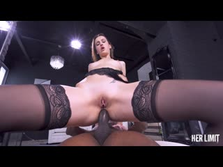 Jessica Night - Lusty Russian Fucked Hard With Big Black Dick - Anal Sex Teen BBC Hardcore Rough Brutal Stockings, Porn, Порно