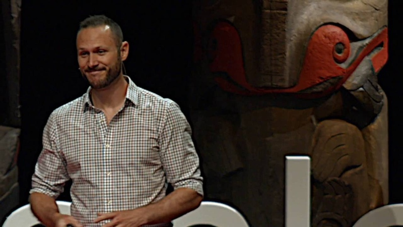 The Mask of Masculinity the traditional role of men is evolving Connor Beaton TEDxStanleyPark