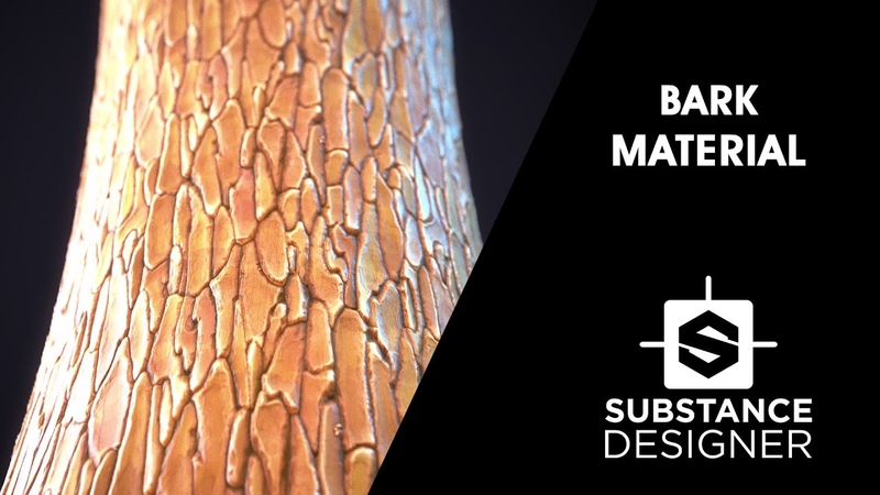 Substance Designer Bark Material