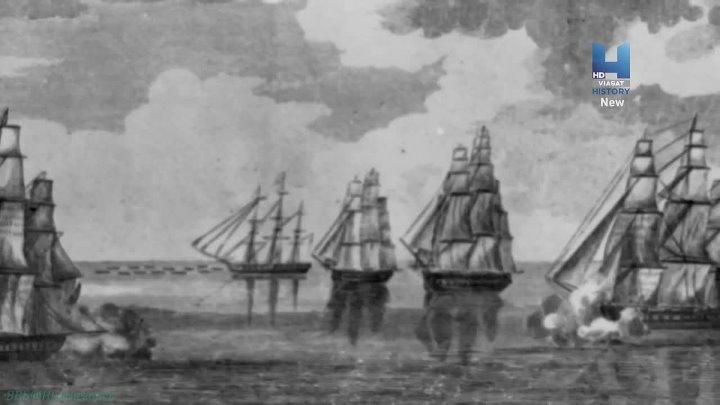 Боевые корабли 04 Могучие деревянные военные корабли Познавательный история морская техника 2016