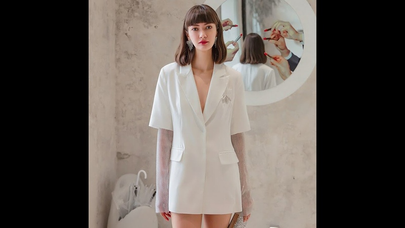 Yigelila модное женское белое пальто элегантное шикарное пальто верхняя одежда куртка 65949