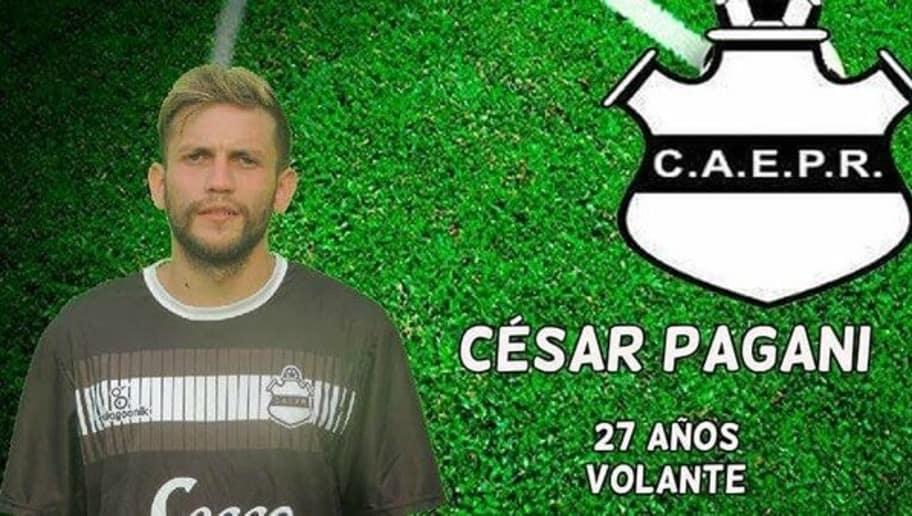 Цезарь Пагани, аргентийский футболист, угрожавший тренеру пистолетом