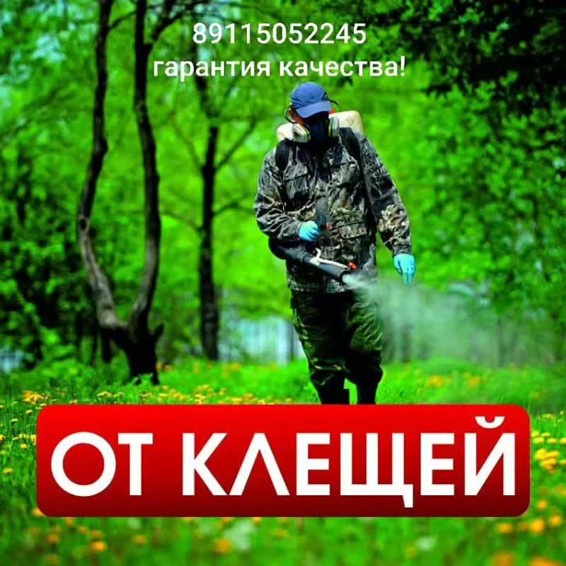 Обработка от клещей вашего участка!Стоимость, Цены на обработку от клещей для частных лиц (минимальная стоимость заказа 2000 руб