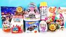 СЮРПРИЗ MIX! Poopsie Slime, Pikmi Pops, Маша и Медведь, Фиксики, LEGO Unboxing Kinder Surprise