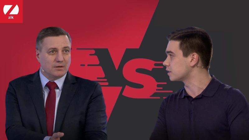Суперечка в ефірі У нас не може бути жодної дискусії Катеринчук Лазарєву