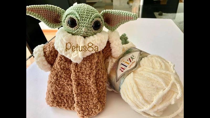 Yoda Bebe que material necesito amigurumis by Petus