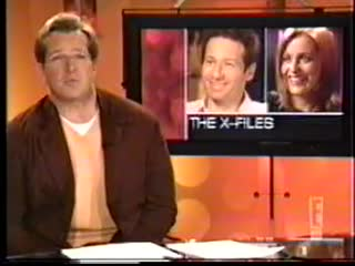 David Duchovny and Gillian Anderson say goodbye - E! (2002)