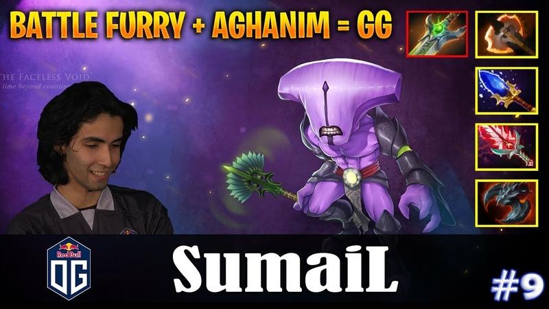 SumaiL - Faceless Void Safelane   BATTLE FURY AGHANIM = GG   Dota 2 Pro MMR Gameplay 9