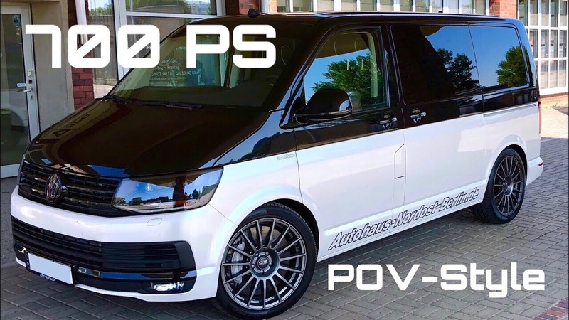 POV-Style Highspeed im HGP VW [T5] T6 3.6 biturbo [700 PS] by Autohaus Nordost Berlin