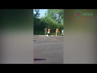Бухой сотрудник полиции Тосненского района Ленобласти на Mercedes GL с номерами 007 сегодн
