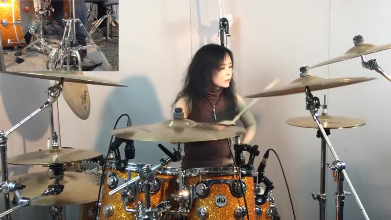 SLAYER Raining Blood drum cover by Ami Kim 11