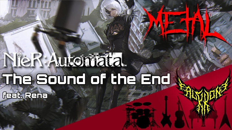 NieR Automata The Sound of the End feat Rena Intense Symphonic Metal Cover