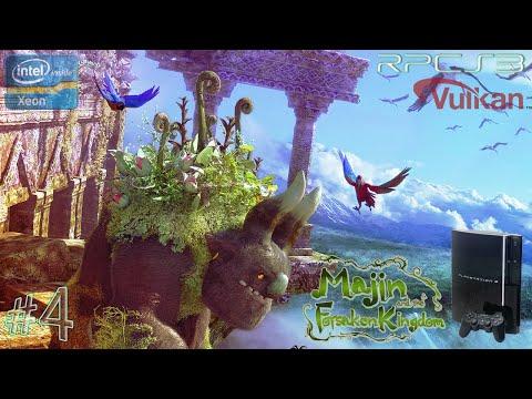 Мадзин Забытое королевство Majin and the Forsaken Kingdom PS3 RPCS3 часть 4