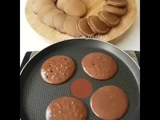 Шоколадные панкейки