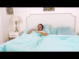 Gianna Gem - минет под одеялом (девочка брюнетка блондинка сестра спит подруга студентка узкая молодая pov solo худая 2020 брат)