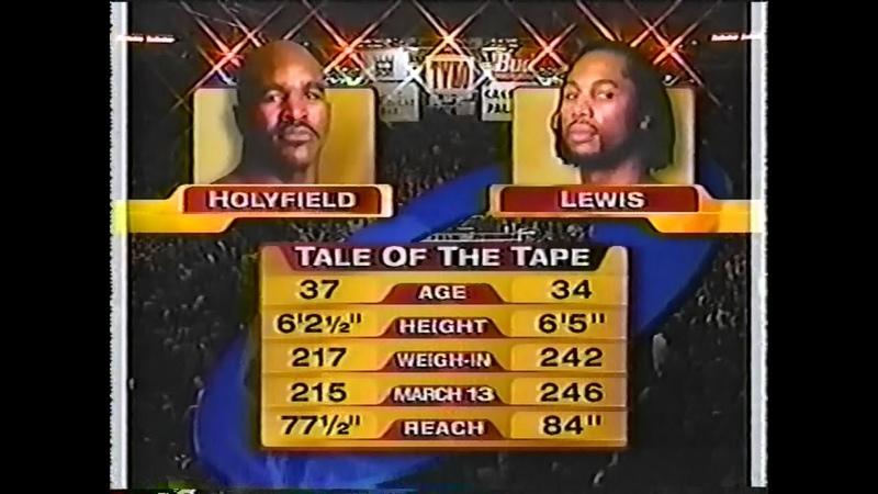 Леннокс Льюис vs Эвандер Холифилд 2 Lennox Lewis vs Evander Holyfield 2