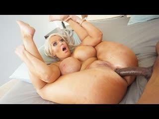 Alura Jenson - Big Boob Babe Want A Cock To Fill Her Ass - Anal Sex Milf Big Tits Juicy Ass Black Dick BBC Chubby Cumshot, Porn