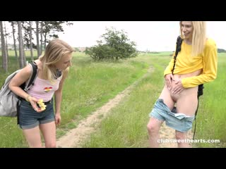 Lesbian, Teen, Fingering, Pussy Licking, Scissoring, 1080p