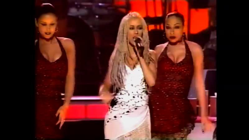 Christina Aguilera Pero Me Acuerdo De Ti Falsas Esperanzas 43rd Annual Grammy Awards 2001