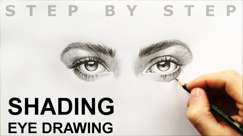 HOW TO DRAW shading eye drawing
