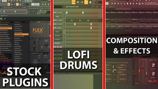 Step By Step: How To Make Lo-fi Hip-Hop With Stock Plugins - FL Studio 20 Tutorial